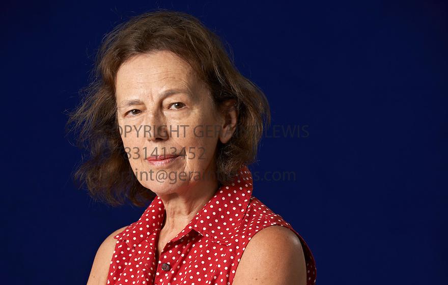 Claire Tomalin  writer  at The Edinburgh International Book Festival   . Credit Geraint Lewis