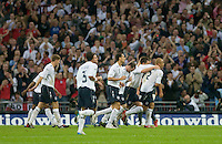 The United States Men's National Team lost to England 2-0 in an international friendly at Wembley Stadium, London, England. May 28, 2008.
