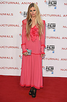 "Laura Bailey<br /> at the London Film Festival 2016 premiere of ""Nocturnal Animals"" at the Odeon Leicester Square, London.<br /> <br /> <br /> ©Ash Knotek  D3179  14/10/2016"