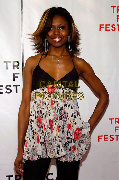 "SHAMIKA COTTON.6th Annual Tribeca Film Festival - ""We Are Together (Thina Simunye)"", An HBO Documentary Film, New York City, New York, USA,.26 April 2007..half length.CAP/ADM/BL.©Bill Lyons/AdMedia/Capital Pictures. *** Local Caption ***"