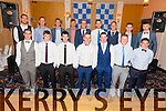 Pictured at the St Mary's Dinner Dance in The Ring of Kerry Hotel on Saturday night were the Senior team and South Kerry Champions front l-r; Daniel Daly, Killian Nolan, Sean Cournane, Ian Casey, Brian Curran, Daragh O'Sullivan, Conor O'Shea, back l-r; Bryan Sheehan, Nial O'Driscoll, Paul O'Donoghue, Denis Daly, Shane Horgan, Patrick Cournane, Conor Quirke, Anthony Cournane & Jack Daly.