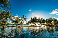 Swimming pool, Four Seasons Resort Bora Bora, French Polynesia.