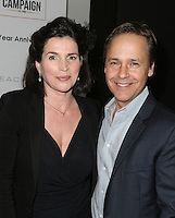 Los Angeles, CA - NOVEMBER 05: Julia Ormond, Chad Lowe at The 10th Annual GO Campaign Gala in Los Angeles At Manuela, California on November 05, 2016. Credit: Faye Sadou/MediaPunch