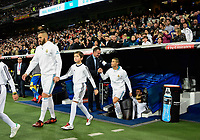 Real Madrid's Karim Benzema and Cristiano Ronaldo and UD Las Palmas'  during La Liga match. November 5,2017. (ALTERPHOTOS/Inma Garcia)