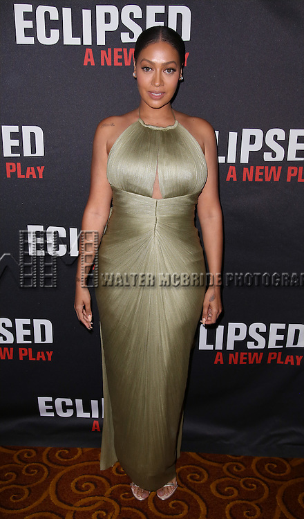 La La Anthony attends the 'Eclipsed' broadway opening night after party at Gotham Hall on March 6, 2016 in New York City.