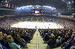 08.09.2017, Mercedes Benz Arena, Berlin, GER, 1.DEL, EISBAEREN BERLIN  VS.  THOMAS SABO ICE TIGERS, im Bild <br /> Die Halle<br /> <br />      <br /> Foto &copy; nordphoto / Engler