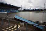 Carlisle - Brunton Park after the floods 09/12/2015
