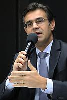 SÃO PAULO, SP, 15.02.2019: POLÍTICA-SP: Rodrigo Garcia, Vice Governador de São Paulo, durante anúncio da 1ª concessão rodoviária da atual gestão e anúncio de campanha de combate a dengue, nesta sexta-feira, 15. ( Foto: Charles Sholl/Brazil Photo Press/Folhapress)