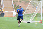 Tim Howard, goalkeeper, during a timed run on Thursday, May 11th, 2006 at SAS Soccer Park in Cary, North Carolina. The United States Men's National Soccer Team held a training session as part of their preparations for the upcoming 2006 FIFA World Cup Finals being held in Germany.
