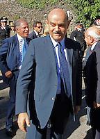 Il Prefetto di Napoli Francesco Musolino durante la cerimonia di  commemorazione delle 4 giornate di Napoli