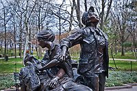 The Memorial to Honor Woman who served in Vietnam, Washington D.C.