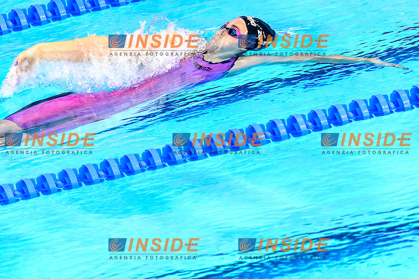 Carlotta ZOFKOVA ITA<br /> 100m Backstroke Women Preliminary <br /> London, Queen Elizabeth II Olympic Park Pool <br /> LEN 2016 European Aquatics Elite Championships <br /> Swimming<br /> Day 10 18-05-2016<br /> Photo Andrea Staccioli/Deepbluemedia/Insidefoto