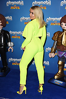 "Talia Storm<br /> arriving for the ""Playmobil:The Movie"" premiere at the Vue Leicester Square, London<br /> <br /> ©Ash Knotek  D3515  04/08/2019"