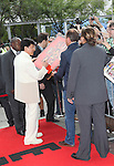 Jackie Chan attending the The 2012 Toronto International Film Festival Red Carpet Arrivals for 'A Conversation with Jackie Chan' at the Princess of Wales Theatre in Toronto on 9/9/2012