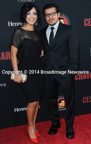 Pictured: Jacob Vargas, Silvia Vargas<br /> Mandatory Credit &copy; Adhemar Sburlati/Broadimage<br /> Film Premiere of Cesar Chavez<br /> <br /> 3/20/14, Hollywood, California, United States of America<br /> <br /> Broadimage Newswire<br /> Los Angeles 1+  (310) 301-1027<br /> New York      1+  (646) 827-9134<br /> sales@broadimage.com<br /> http://www.broadimage.com