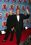 Mike Wallace with wife Mary attending CBS AT 75 in New York City. 11/2/2003