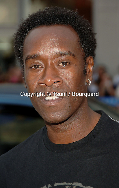 Don Cheadle arriving at The FOUNTAIN Premiere at the Chinese Theatre in Los Angeles.<br /> <br /> headshot<br /> eye contact