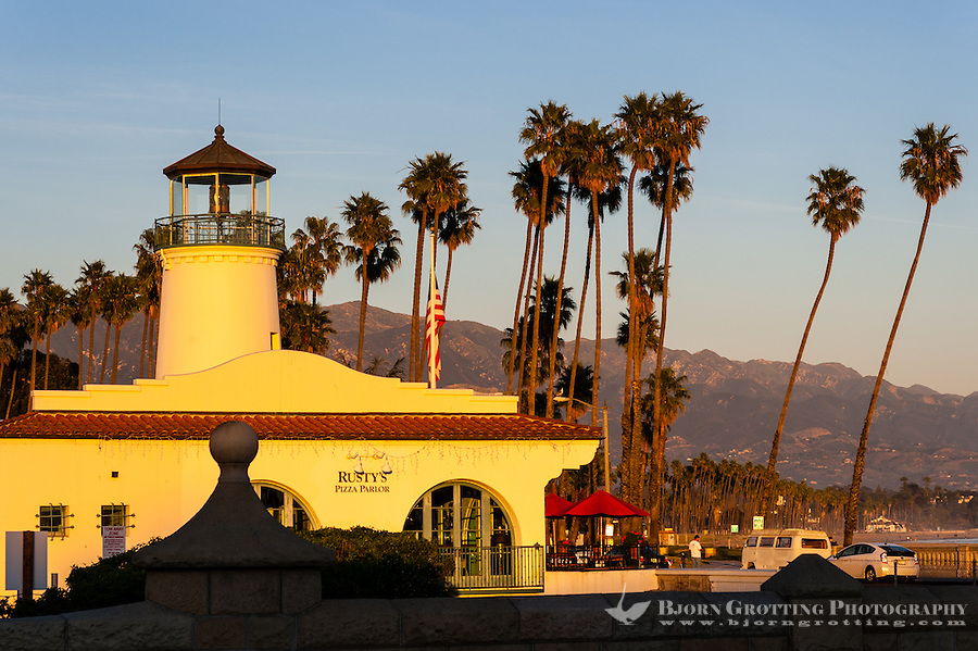 United States, California, Santa Barbara. Former lighthouse, now a restaurant.