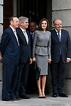 Spanish Queen Letizia attends at headquaerters of spanish AECIID on Madrid in Spain. March 7, 2017. (ALTERPHOTOS / Rodrigo Jimenez)