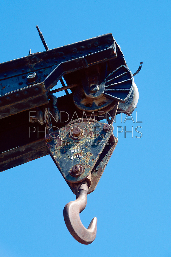 CRANES AND PULLEYS<br /> Train Crane Hook On A Pulley