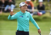 28th September 2017, Windross Farm, Auckland, New Zealand; LPGA McKayson NZ Womens Open, first round;  New Zealand's Lydia Ko