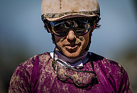 ARCADIA, CA - JUNE 02: Jockey Joe Talamo at Santa Anita Park on June 02, 2018 in Arcadia, California. (Photo by Alex Evers/Eclipse Sportswire/Getty Images)
