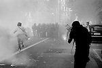 Rome, 15th october 2011<br /> The Anger Day<br /> <br /> European Demonostration of the Indignati (linked to Occupy Wall Street and the Indignados). It ended up with riots in the streets....<br /> <br /> Black Bloc in action...