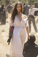 WESTWORLD (season 2)<br /> ANGELA SARAFYAN<br /> *Filmstill - Editorial Use Only*<br /> CAP/FB<br /> Image supplied by Capital Pictures