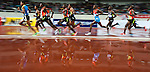 SHANGHAI, CHINA - MAY 19:  Athletes compete in the Men 5000m during the Samsung Diamond League on May 19, 2012 at the Shanghai Stadium in Shanghai, China. Photo by Victor Fraile / The Power of Sport Images