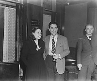 Lucienne Boyer and Jack Pills, 14 Dec 1945