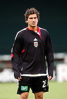 7 May 2005. Santino Quaranta (25) of DC United warms up before the game at RFK Stadium in Washington, DC.