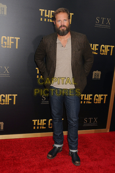 30 July 2015 - Los Angeles, California - David Denman. &quot;The Gift&quot; Los Angeles Premiere held at Regal Cinemas LA Live.  <br /> CAP/ADM/BP<br /> &copy;Byron Purvis/AdMedia/Capital Pictures