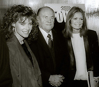 Kate Capshaw E.G. Marshall and Gloria Steinem circa 1980's<br /> Photo By Jesse Nash/PHOTOlink