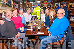 Bridie O'Shea's 80th Birthday was Celebrated on Saturday night by Dinner in The Towers Hotel with her family <br /> L-R: Kevin, Geraldine, Bridie, Peter, Hannah, Carmel, Liz &  Humphrey O'Shea