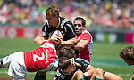 Scott Curry. Hong Kong Sevens, 28 March 2015. NZ drew with Portugal 24-24. Photo: Marc Weakley
