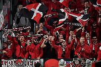 Leverkusen fans<br /> Torino 01/10/2019 Juventus Stadium <br /> Football Champions League 2019//2020 <br /> Group Stage Group D <br /> Juventus - Leverkusen <br /> Photo Andrea Staccioli / Insidefoto