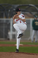 Matthew Palomino (6) of Sacred Heart Cathedral Prep High School in San Francisco, California during the Under Armour All-American Pre-Season Tournament presented by Baseball Factory on January 15, 2017 at Sloan Park in Mesa, Arizona.  (Kevin C. Cox/MJP/Four Seam Images)
