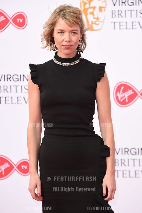 Anna Maxwell Martin arriving for the BAFTA TV Awards 2018 at the Royal Festival Hall, London, UK. <br /> 13 May  2018<br /> Picture: Steve Vas/Featureflash/SilverHub 0208 004 5359 sales@silverhubmedia.com