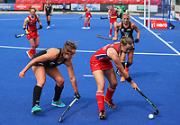 USA during the Pro League Hockey match between the Blacksticks women and the USA, Nga Punawai, Christchurch, New Zealand, Sunday 16 February 2020. Photo: Simon Watts/www.bwmedia.co.nz