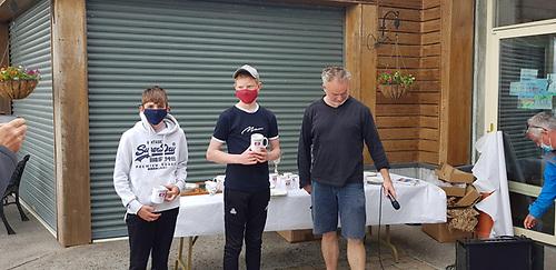 3rd place Silver Fleet - Adam McGrady and Aly O'Sullivan of Galway Bay Sailing Club