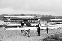 Caversham. Berkshire. UK<br /> Coach, Richard TINKLER, debriefing, his crew after an training session.<br /> 2016 GBRowing, Para Rowing Media Day, UK GBRowing Training base near Reading, Berkshire.<br /> <br /> Friday  15/04/2016<br /> <br /> [Mandatory Credit; Peter SPURRIER/Intersport-images]