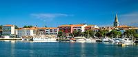 Kroatien, Istrien, Porec: Altstadt mit St. Euphrasius Basilika | Croatia, Istria, Porec: old town with St. Euphrasius Basilica
