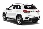 Car pictures of rear three quarter view of a 2020 Mitsubishi ASX Intense 5 Door SUV angular rear