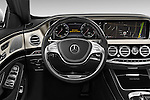 Car pictures of steering wheel view of a 2017 Mercedes Benz S-Class Maybach 4 Door Sedan Steering Wheel