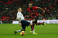 Nathan Redmond of Southampton and Kieran Trippier of Tottenham Hotspur during Tottenham Hotspur vs Southampton, Premier League Football at Wembley Stadium on 5th December 2018