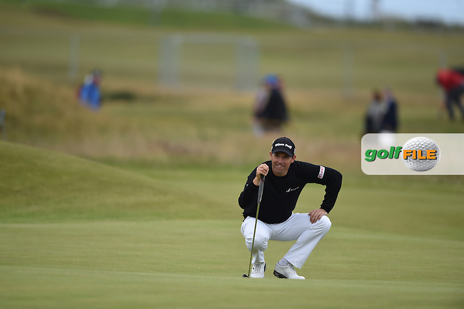 Padraig HARRINGTON (IRL)  during the 3rd round on Sunday of the 144th Open Championship, St Andrews Old Course, St Andrews, Fife, Scotland. 19/07/2015.<br /> Picture: Golffile | Fran Caffrey<br /> <br /> <br /> All photo usage must carry mandatory copyright credit (&copy; Golffile | Fran Caffrey)