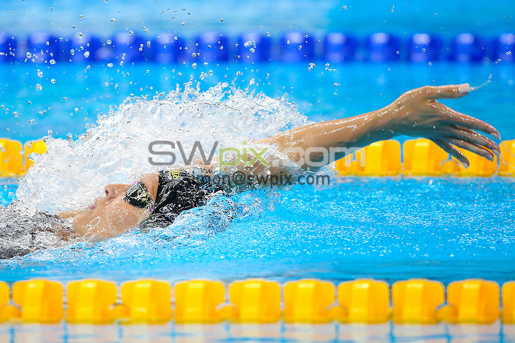 Picture by Alex Whitehead/SWpix.com - 11/09/2016 - 2016 Rio Paralympic Games - Swimming - Olympic Aquatics Stadium, Rio de Janeiro, Brazil - Sophie Pascoe of New Zealand competes in the Women's 200m IM SM10 Final.