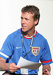 John Hackworth, head coach of the U.S. U-17 national team, on Sunday, March 25th, 2007 at Raymond James Stadium in Tampa, Florida. The United States Men's Under 17 National Team defeated El Salvador in a U-17 international friendly.