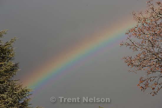 Rainbow..Saturday May 2, 2009 in Salt Lake City.