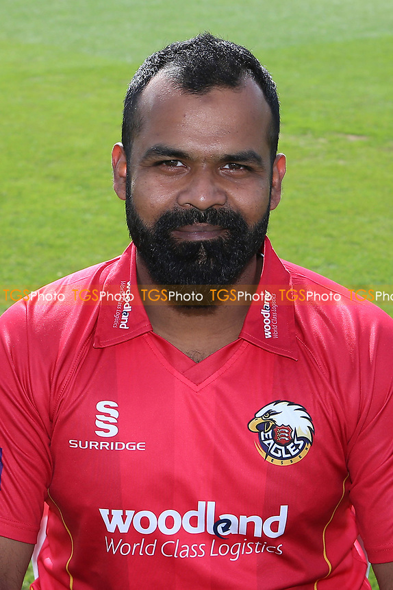 Ashar Zaidi of Essex in Royal London Cup kit during the Essex CCC Press Day at The Cloudfm County Ground on 5th April 2017